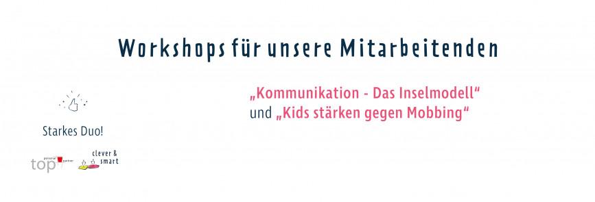 Ein starkes Duo - clever & smart und top personal partner GmbH | Workshops nach für Menschenliebhaber